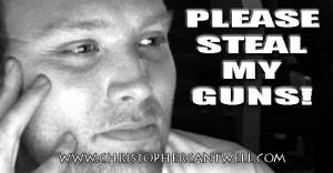 John Hokanson Jr Is Begging You To Take His Guns Away